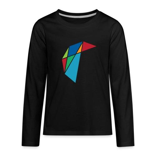 GLARE Logo - Kids' Premium Long Sleeve T-Shirt