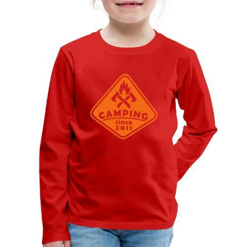 Campfire 2011 - Kids' Premium Long Sleeve T-Shirt