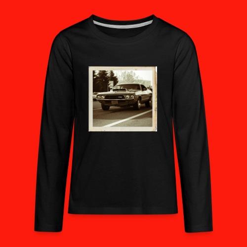 charger Kids' Shirts - Kids' Premium Long Sleeve T-Shirt