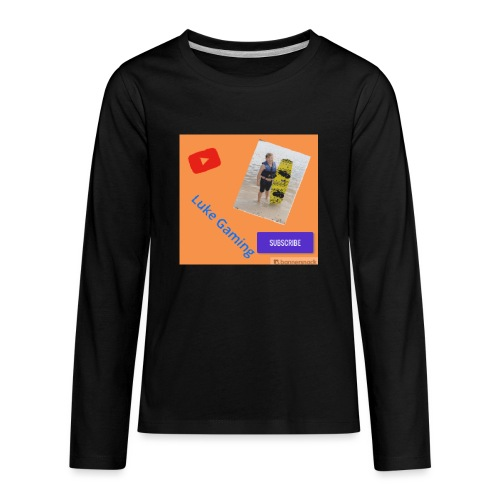 Luke Gaming T-Shirt - Kids' Premium Long Sleeve T-Shirt