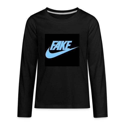 fake Nikes - Kids' Premium Long Sleeve T-Shirt