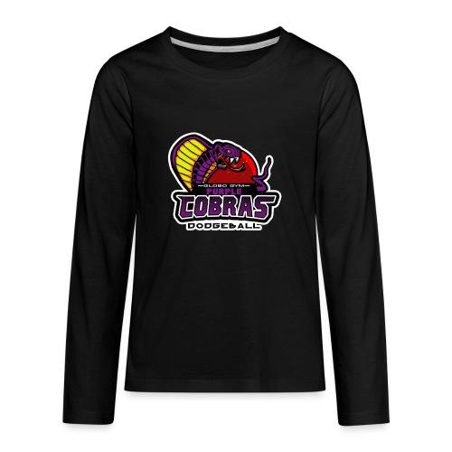 globo gym costume - Kids' Premium Long Sleeve T-Shirt