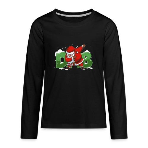 Dabbing Santa - Kids' Premium Long Sleeve T-Shirt