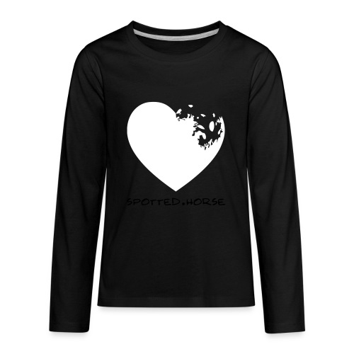 Appaloosa Heart - Kids' Premium Long Sleeve T-Shirt