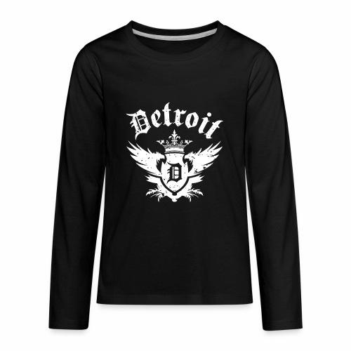 DETROIT ROYALTY - Kids' Premium Long Sleeve T-Shirt