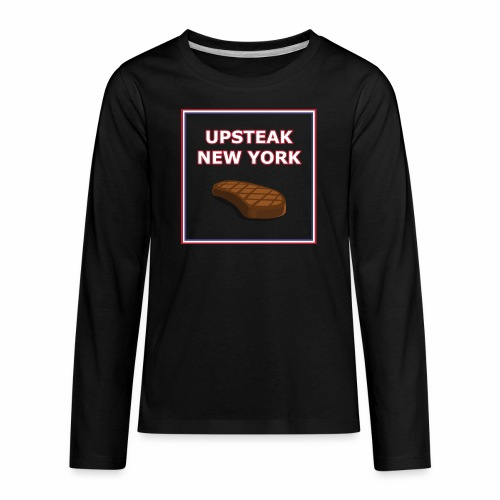 Upsteak New York | July 4 Edition - Kids' Premium Long Sleeve T-Shirt
