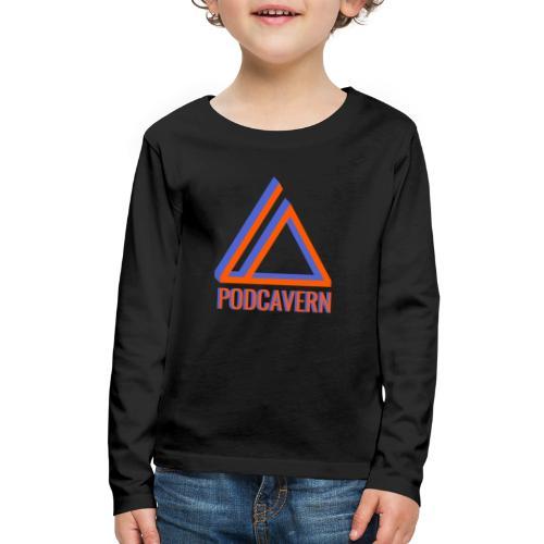 PodCavern Logo - Kids' Premium Long Sleeve T-Shirt