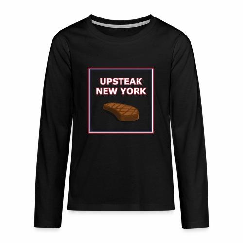 Upsteak New York | July 4 Edition - Kids' Premium Long Sleeve T-Shirt