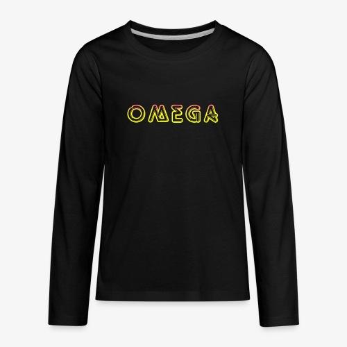 Omega - Kids' Premium Long Sleeve T-Shirt