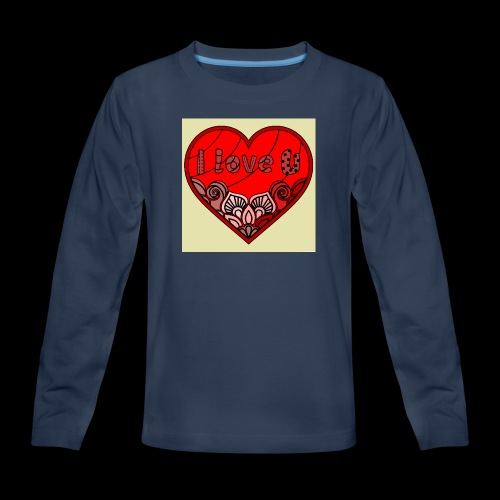 DE1E64A8 C967 4E5E 8036 9769DB23ADDC - Kids' Premium Long Sleeve T-Shirt