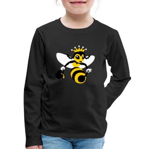 Queen Bee - Kids' Premium Long Sleeve T-Shirt