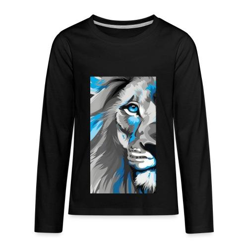 Blue lion king - Kids' Premium Long Sleeve T-Shirt
