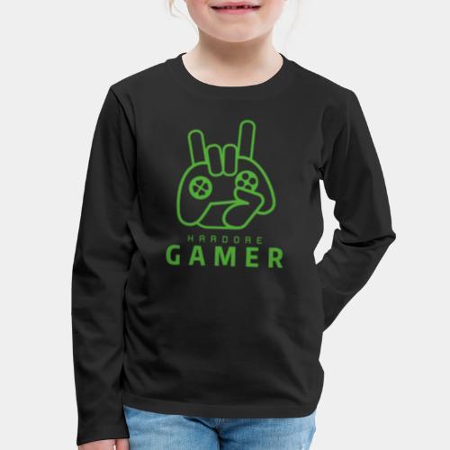 gamer game boy - Kids' Premium Long Sleeve T-Shirt