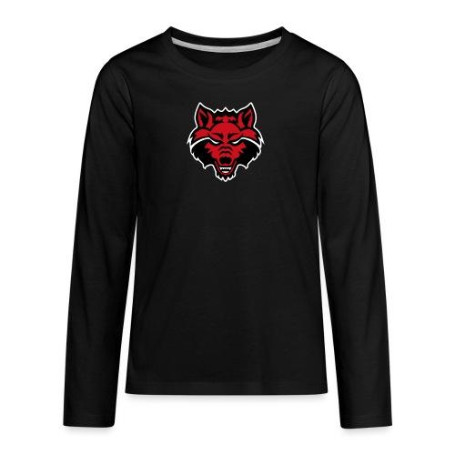 Red Wolf - Kids' Premium Long Sleeve T-Shirt