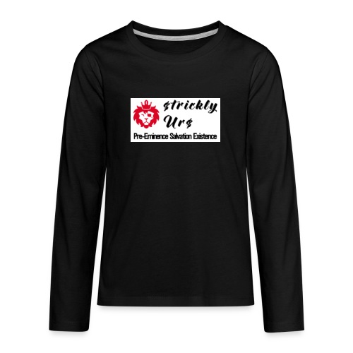 E Strictly Urs - Kids' Premium Long Sleeve T-Shirt