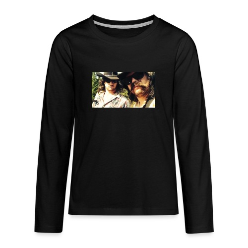 Jaw Thrust Cover Art - Kids' Premium Long Sleeve T-Shirt