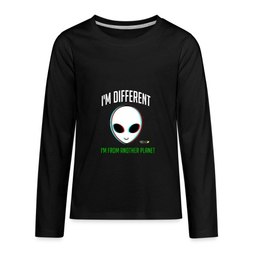 I'm different - Kids' Premium Long Sleeve T-Shirt