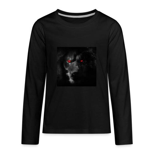 Black ye - Kids' Premium Long Sleeve T-Shirt