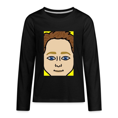 SNAP MERCH - Kids' Premium Long Sleeve T-Shirt