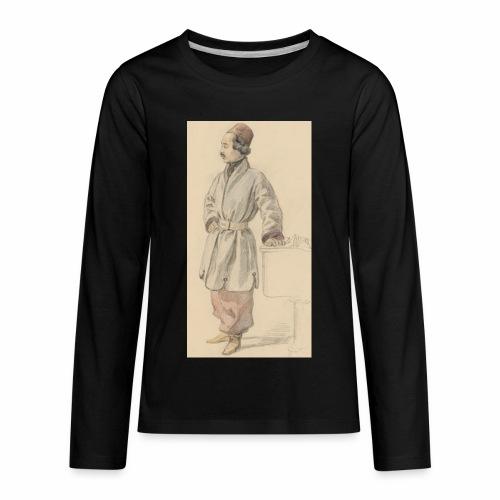 rs portrait sp 01 - Kids' Premium Long Sleeve T-Shirt