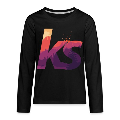 Khalil sheckler - Kids' Premium Long Sleeve T-Shirt