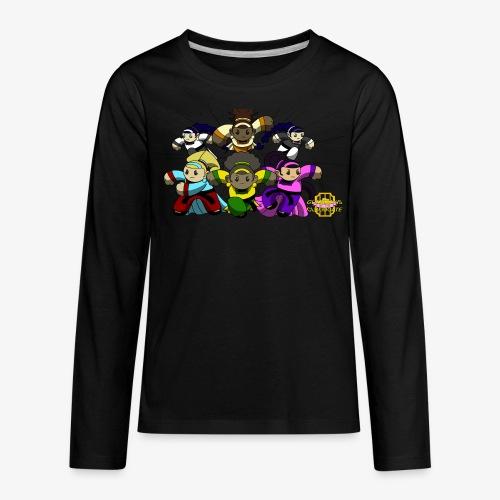 The Guardians of the Cloudgate w/ Logo - Kids' Premium Long Sleeve T-Shirt