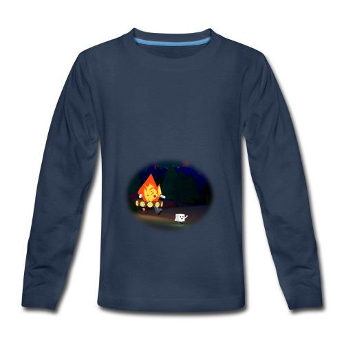 'Round the Campfire - Kids' Premium Long Sleeve T-Shirt