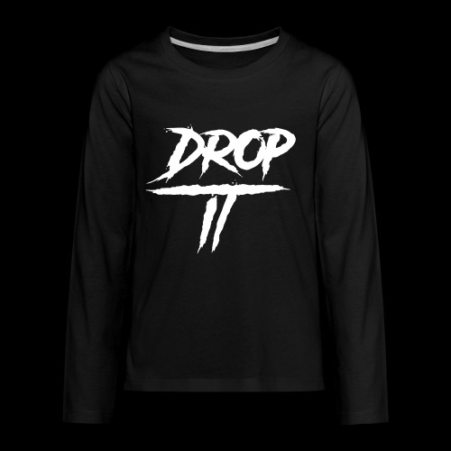 DROP IT Original Logo - Kids' Premium Long Sleeve T-Shirt