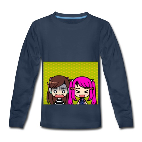 Phone case merch of jazzy and raven - Kids' Premium Long Sleeve T-Shirt