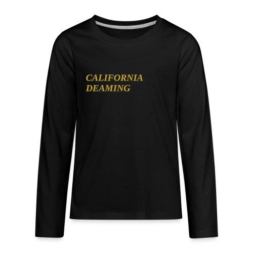 CALIFORNIA DREAMING - Kids' Premium Long Sleeve T-Shirt