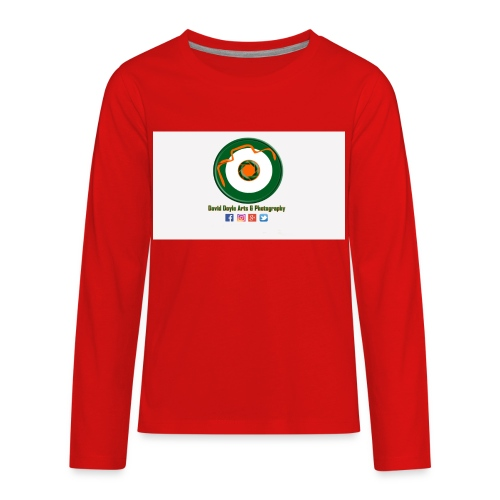 David Doyle Arts & Photography Logo - Kids' Premium Long Sleeve T-Shirt
