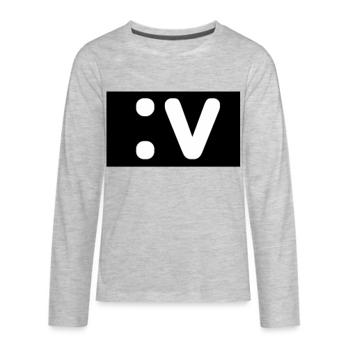 LBV side face Merch - Kids' Premium Long Sleeve T-Shirt