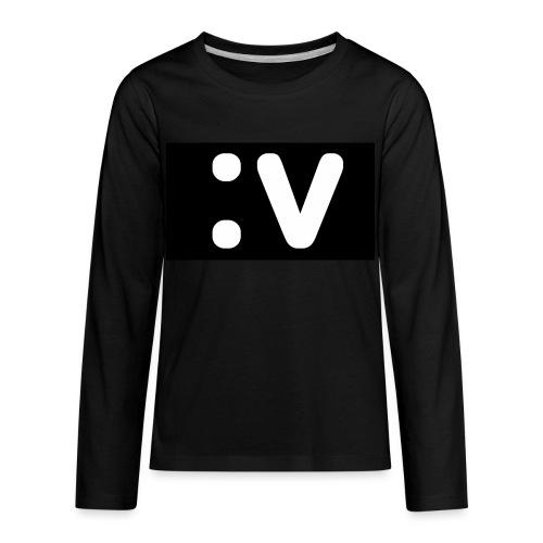 LBV side face Merch - Kids' Premium Long Sleeve T-Shirt