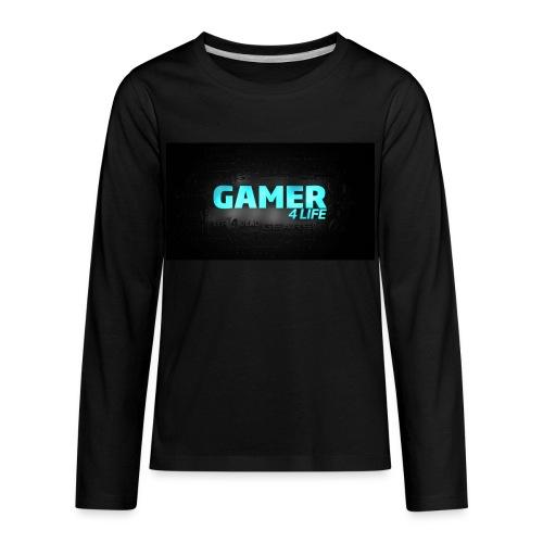 plz buy - Kids' Premium Long Sleeve T-Shirt