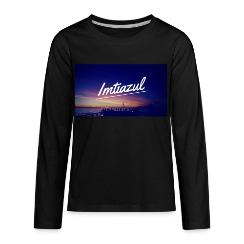 Copy of imtiazul - Kids' Premium Long Sleeve T-Shirt