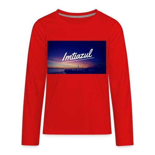 Copy of imtiazul - Kids' Premium Long Sleeve T-Shirt