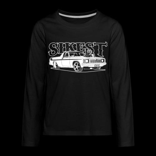 SIKEST - HJ UTE BLOWN BIG BLOCK DESIGN - Kids' Premium Long Sleeve T-Shirt