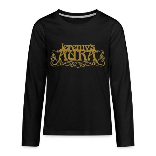 Jeremy's Art Nouveau Logo - Kids' Premium Long Sleeve T-Shirt
