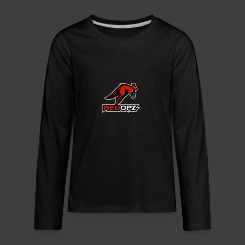RedOpz Basic - Kids' Premium Long Sleeve T-Shirt