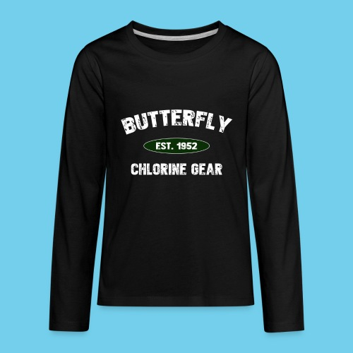 Butterfly est 1952-M - Kids' Premium Long Sleeve T-Shirt