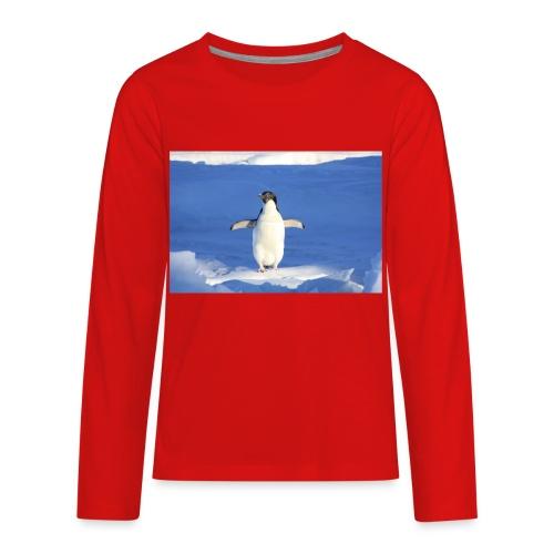 Mr. Penguin - Kids' Premium Long Sleeve T-Shirt