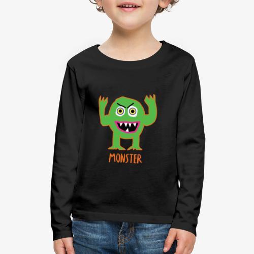 Monster - Kids' Premium Long Sleeve T-Shirt