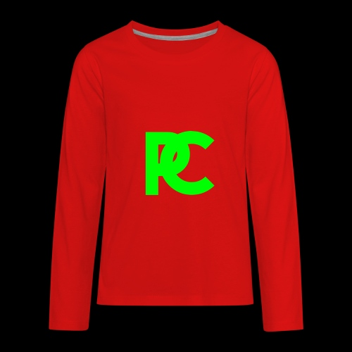 Patrick Calliza Green Logo - Kids' Premium Long Sleeve T-Shirt