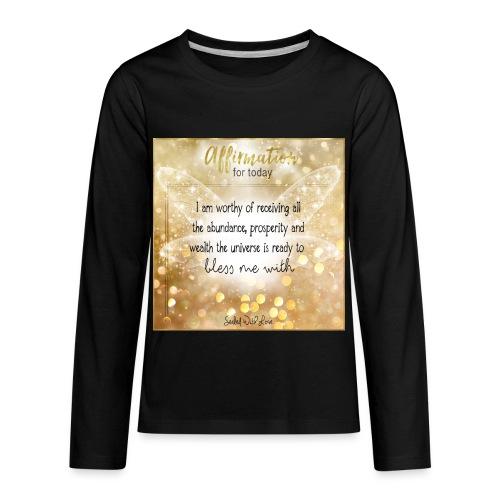 Abundance - Kids' Premium Long Sleeve T-Shirt