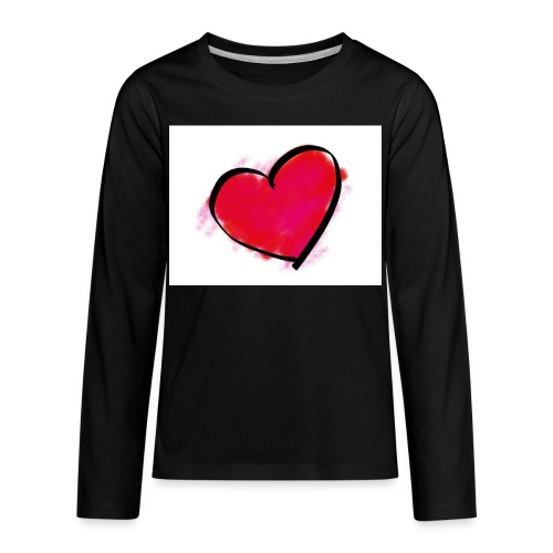 heart 192957 960 720 - Kids' Premium Long Sleeve T-Shirt