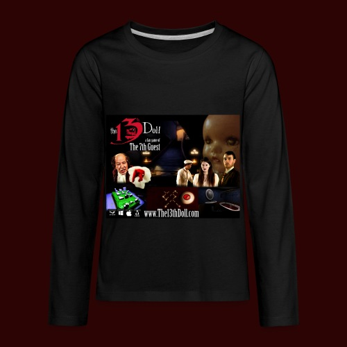 The 13th Doll Cast and Puzzles - Kids' Premium Long Sleeve T-Shirt