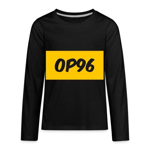 OP96FirstLogo - Kids' Premium Long Sleeve T-Shirt