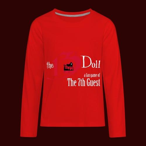 The 13th Doll Logo - Kids' Premium Long Sleeve T-Shirt