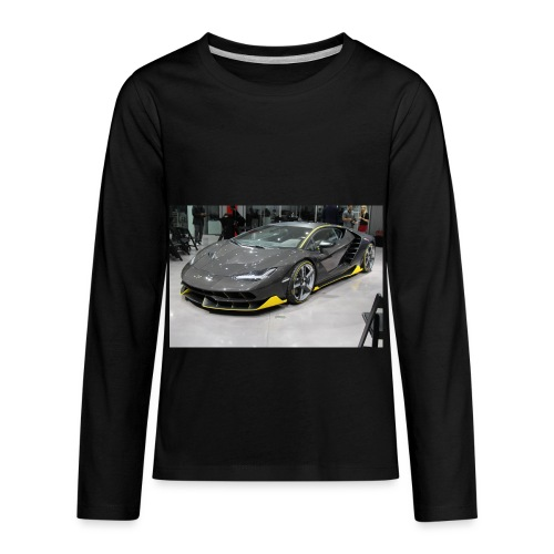 lambo shirt limeted - Kids' Premium Long Sleeve T-Shirt