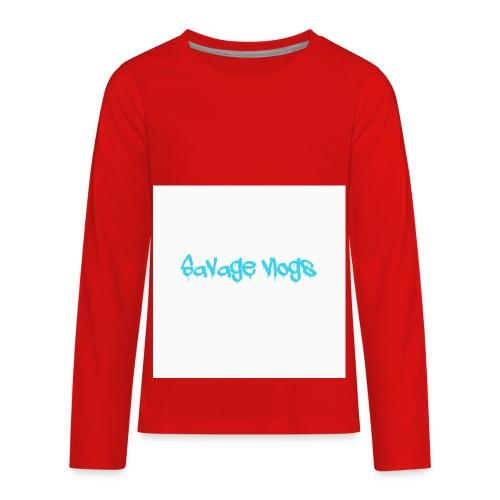 BBE7B1B4 6044 42AF A152 48208328D2C8 - Kids' Premium Long Sleeve T-Shirt